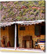 Southwest Canyon Hacienda Canvas Print