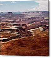 Canyon Lands Canvas Print