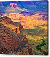 Canyon View Canvas Print