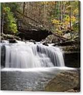 Canyon Waterfall Canvas Print