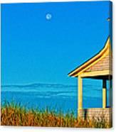 Cape Cod Bay House Canvas Print