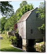 Cape Cod Water Mill Canvas Print