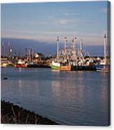 Cape May Fishing Boats Canvas Print