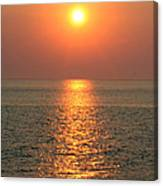 Cape May Sunset Canvas Print