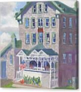 Cape Vincent Ny Fisheries Building Canvas Print
