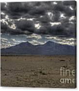 Capitan Clouds Canvas Print