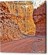 Capitol Gorge Trail At Capitol Reef Canvas Print