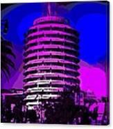 Capitol Records Building Canvas Print
