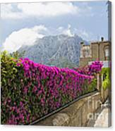Capri Alleyway Canvas Print
