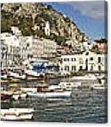 Caprii Italy Panorama Canvas Print