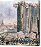 Capture Of The Bastille Canvas Print