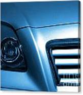 Car Face Canvas Print