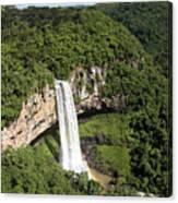 Caracol Waterfall Canvas Print