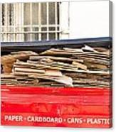 Cardboard  Canvas Print
