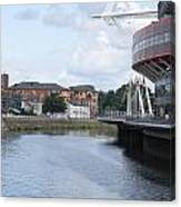 Cardiff In Wales Canvas Print