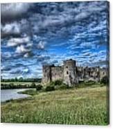 Carew Castle Pembrokeshire 3 Canvas Print