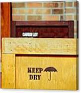 Cargo Crates Canvas Print