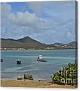 Caribbean Cove Canvas Print