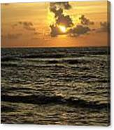 Caribbean Sunrise Canvas Print