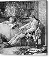 Carl Linnaeus, Swedish Botanist Canvas Print
