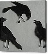 Carl's Crows Canvas Print