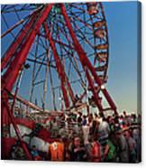Carnival - An Amusing Ride  Canvas Print