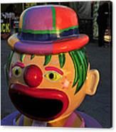 Carnival Clown Canvas Print