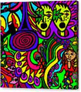 Carnival Day Canvas Print