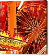 Carnival Lights  Canvas Print
