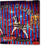 Carousel Club Canvas Print