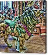 Carousel Color Canvas Print
