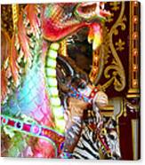Carousel Dragon Canvas Print