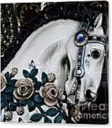 Carousel Horse - 8 Canvas Print