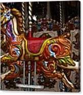 Carousel Horses Canvas Print