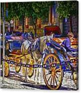 Carrage Waiting Canvas Print