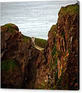 Carrick-a-rede Bridge II Canvas Print