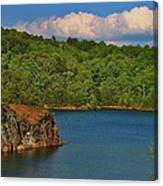 Carters Lake In Georgia Canvas Print