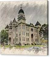 Carthage Courthouse Canvas Print