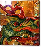 Carved Dragon Canvas Print