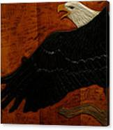 Carved Eagle Canvas Print