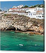 Carvoeiro Panorama Canvas Print