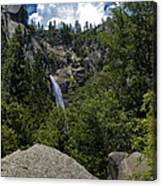 Cascade Falls Yosemite National Park Canvas Print