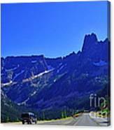 Cascade Mountain Range Canvas Print