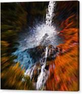 Cascade Waterfall Canvas Print