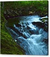 Cascades Before The Falls Canvas Print