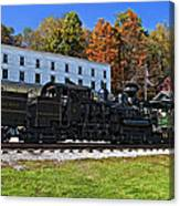 Cass Railway Wv Painted Canvas Print