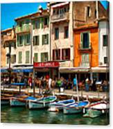 Cassis France Canvas Print