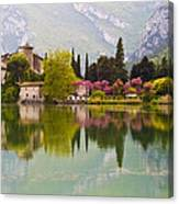 Castel Toblino Canvas Print