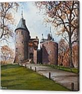 Castell Coch Canvas Print