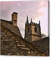 Castle Combe Medieval Church Canvas Print